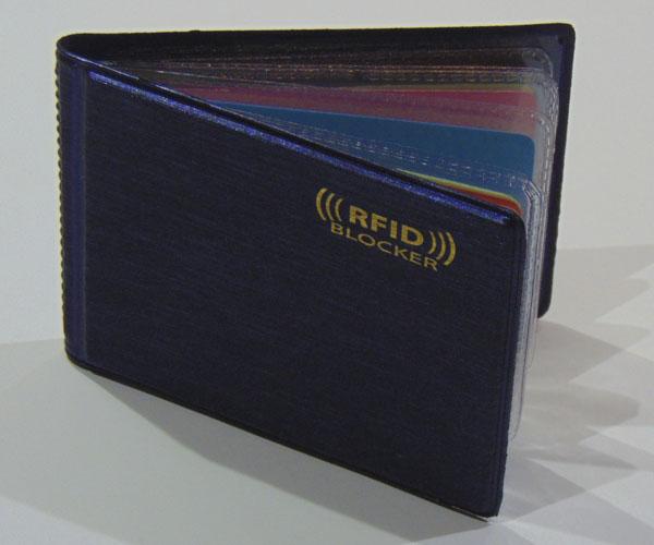 RFID bankkártya tartó (10 férőhelyes)